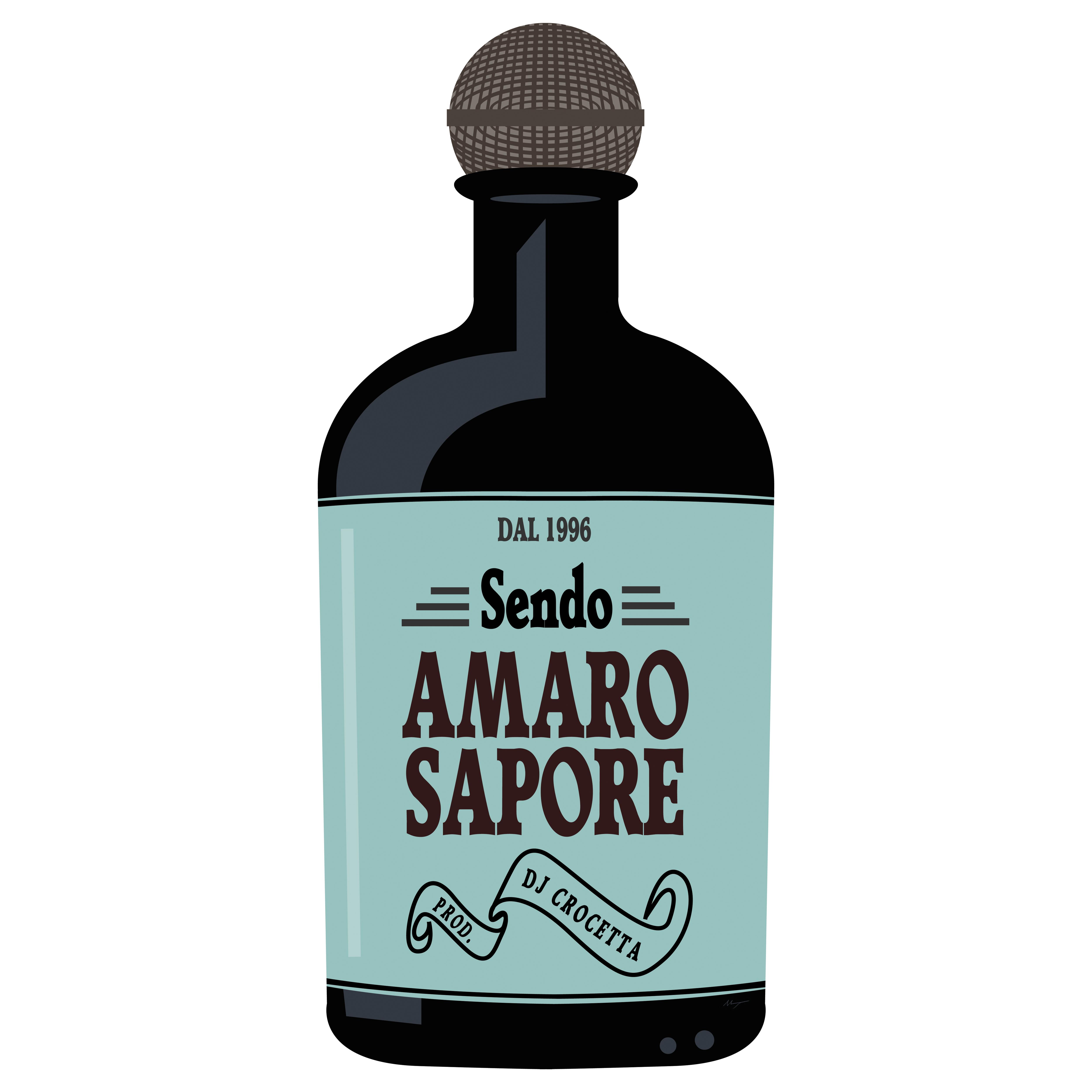 """Cover """"Amaro sapore"""""""